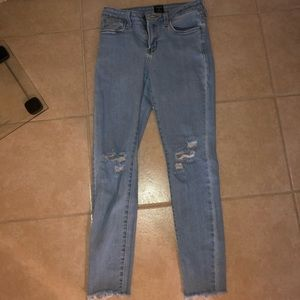 Top Shop Ripped Jeans